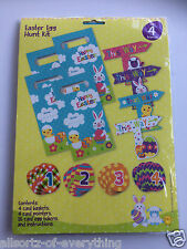 Easter egg hunt kit-carte paniers pointers oeuf jetons