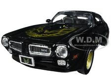1973 PONTIAC FIREBIRD TRANS AM BLACK W/ GOLD WHEELS 1/24 BY MOTORMAX 73243