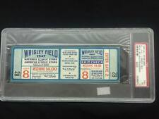 1947 ALL STAR Ticket / Proof - Wrigley Field PSA 5 / A.L vs N.L.