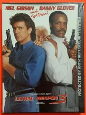 Lethal Weapon 3 DVD Mel Gibson Danny Glover Joe Pesci Brand New Sealed Snap Case