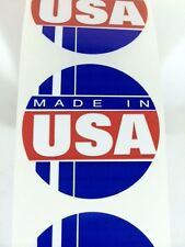 50 Made in the USA Circle Label Stickers Made in the USA eBay Labels Fragile