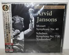 SACD ARVID JANSONS - MOZART No. 40 - SHUBERT No. 7(8) - TBS - JAPAN - TYGE-60006