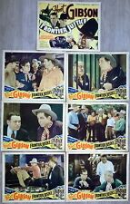 FRONTIER JUSTICE HOOT GIBSON WESTERN 1936 SEVEN LOBBY CARDS