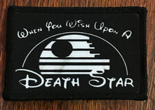 Star Wars When You Wish Upon a Death Star Morale Patch Disney Stormtrooper Yoda