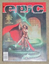 Epic - Marvel Magazine of Fantasy & Science Fiction - Dec 1984