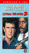 Lethal Weapon 2 [VHS] [1989], Acceptable VHS, Mel Gibson, Danny Glover, Joe Pe,