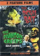 The Devil Bat & The Phantom Creeps DVD Double Feature B Movie Bela Lugosi