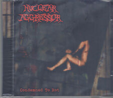 NUCLEAR AGGRESSOR-CONDEMNED TO ROT-CD-thrash-metal-minotaur-violent assault