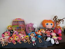 "LALALOOPSY DOLLS FULL SIZE 7"" HOUSE REMOTE SCOOTER TALKING PLUSH FIGURES +++"