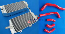 FOR Honda CRF450 CRF450R 2005 2006 2007 2008 05-08 Aluminum radiator + hose