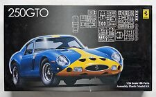 FUJIMI 1/24 FERRARI 250 GTO HISTORIC RACING SERIES - BLUE/YELLOW w ENGINE DETAIL