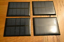 4 PCS 2.5V 0.5W 200ma Monocrystalline solar panel -Ideal 4 direct Nimh charging