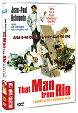 That Man from Rio / L'homme de Rio (1964) - Jean-Paul Belmondo DVD *NEW