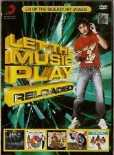 LET THE MUSIC PLAY RELOADED - BOLLYWOOD MUSIC DVD - FREE POST