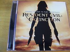 RESIDENT EVIL : EXTINCTION O.S.T.  CD MINT- CHARLIE CLOUSER CHIMAIRA NIGHTWISH