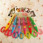 6x Creative Cut Picture Photo Paper Edging Scissors Assorted Design Decorative