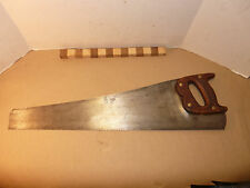 "Very Rare Bulldog, 26"" Skew Back Rip Saw 8 TPI Made To Fit Toolboxes INV9595"
