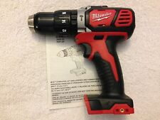 "New Milwaukee M18 18V 18 Volt 2607-20 1/2"" Hammer Drill Driver Lithium Ion"