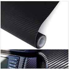 50cmx127cm 3d black carbon fiber vinilo car Wrap Sheet roll película sticker decal