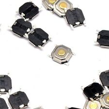100pcs 4*4*1.5mm Tactile Push Button Switch Tact Switch Micro Switch 4-Pin SMD