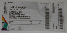 Ticket for collectors HJK Helsinki Liverpool FC 2015 Finland England