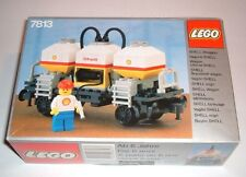 NEW Lego TRAIN 4.5 V 7813 Shell Tanker Wagon Sealed