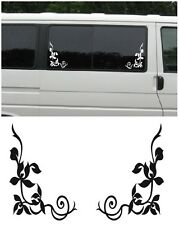 Window Embelish VW T2 T25 T4 T5 Campervan Vinyl Sticker 01 : Free UK P&P