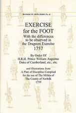 EXERCISE for the FOOT 1757 Booklet Manual of British Arms Development