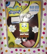 Brand New Whimsical, Fun & Functional 4 GB USB FLASH DRIVE SpongeBob SquarePants