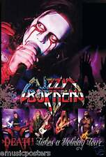 """LIZZY BORDEN """"DEATH TAKES A HOLIDAY TOUR"""" POSTER FROM ASIA (#J-4826)"""