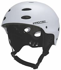Limited Edition ProTec Wake Helmet Matte White - Size:L - Kite - Wake - Kayak
