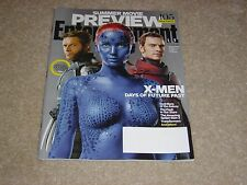 X-MEN DAYS OF FUTURE PAST Hugh Jackman April 2014 ENTERTAINMENT WEEKLY MAGAZINE