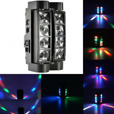 60W 8-LED 4in1 RGBW Light Spider Moving Head Stage Lights DMX DJ Disco US 7/13CH
