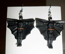 BATMAN Retro Figures Figurines Dangle Earrings The Dark Knight BRAND NEW! ARKHAM