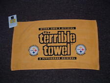 MYRON COPE'S THE TERRIBLE TOWEL PITTSBURGH STEELERS OFFICIAL FAN CLUB EDITION