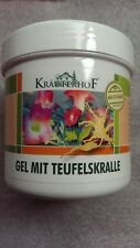 KrauterhoF Gel Devil's Claw & Eucalyptus Chronic Degeneratives Free P&P  250ml