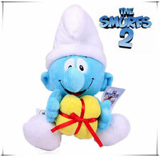 42CM LARGE JOKEY THE SMURFS PLUSH DOLL SOFT BEAR KID CHILD BABY STUFFED TOY GIFT