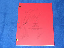 TRUE BLOOD TV PILOT SCRIPT - AUTOGRAPHS - ALEXANDER SKARSGARD - JOE MANGANIELLO