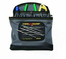 Magnetic Belt Clip-On Nail Pouch Tool Storage Heavy Duty Nails Screws Organizer