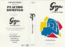 Goya- A Life In Song - Rare 4 track Promo tape - From stage musical / J Rush,