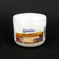 MSM CREAM  100g  Dog Cat Rabbit Herbal Wound Care Pets EQUIMINS