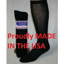 12 Pair of Black Over The Calf Diabetic Socks Size 13-15 Over Diabetic Socks