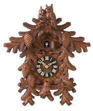 Hones 8710-4 Carved Owls 8-Day Cuckoo-Clock