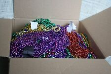 Large Flat Rate Box VARIOUS LOT NEW ORLEANS MARDI GRAS Parade BEADS Party Favor