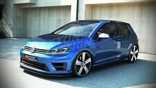 FRONT SPLITTER (TEXTURED) FOR VW GOLF VII R (2012 - onwards)