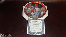 Limited Edition-2000 Mark McGwire The 500th HR Bradford Exchange Plate