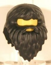 LEGO - Minifig, Headgear Hair with Beard - Giant (Hagrid) - Black