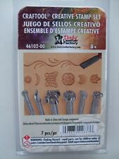 CREATIVE LEATHER STAMP SET by TANDY