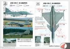 HAD Models JAS-39C/D Gripen 1/48 decals