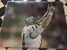 Andy Dalton authentic signed autographed 11x14 photograph holo COA